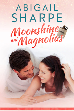 Welcome to the Moonshine and Magnolias #CoverReveal with #author Abigail Sharpe @AbigailSharpe